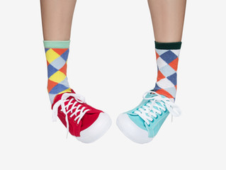 Join the odd sock month