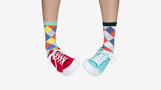 Fun Chaussettes Patterned