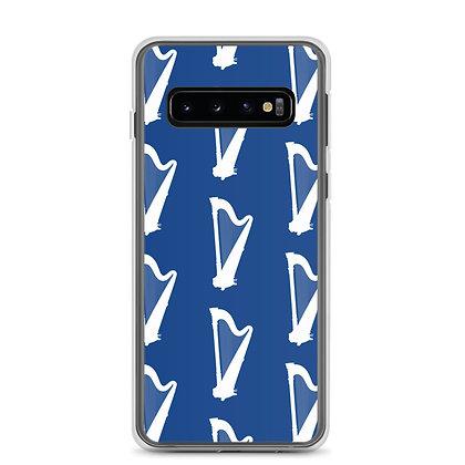 White Harps on Blue Samsung Case