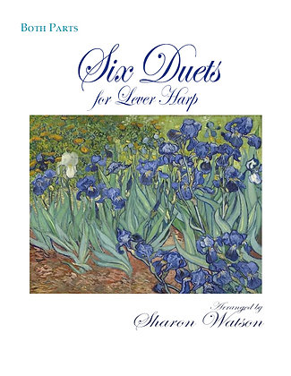 6 Duets for Lever Harp