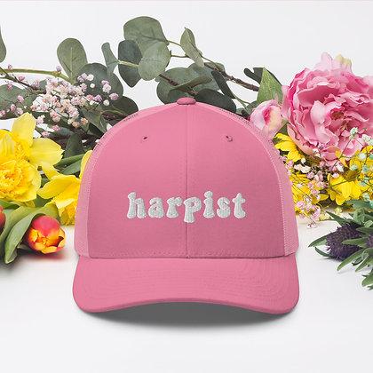 Tell em you're a harpist Trucker Cap