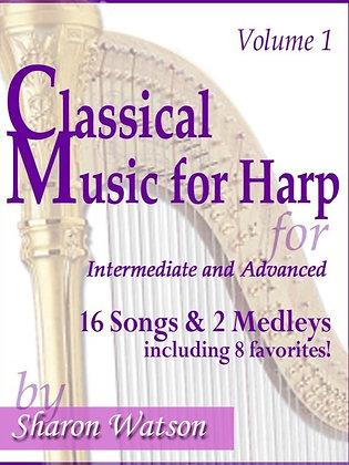 Classic Music for Harp - Volume 1