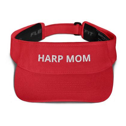 HARP MOM - Embroidered Visor
