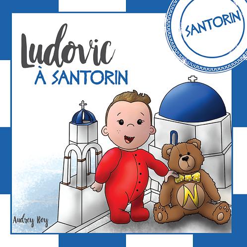 Ludovic à Santorin