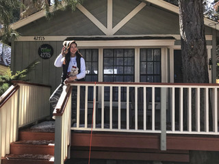 SASSI'S SEAL OF APPROVAL -             BIG BEAR'S SWEET CEDAR CABIN!