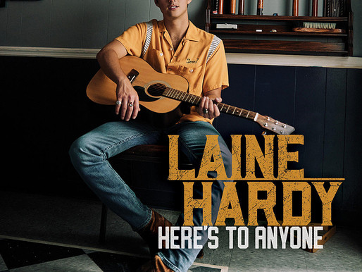 Laine Hardy Announces Debut Album, 'Here's to Anyone'