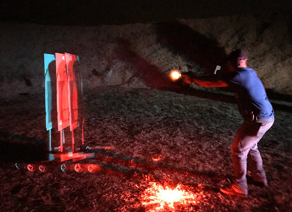 December 12 - Low Light Moving Targets – Handgun or Carbine