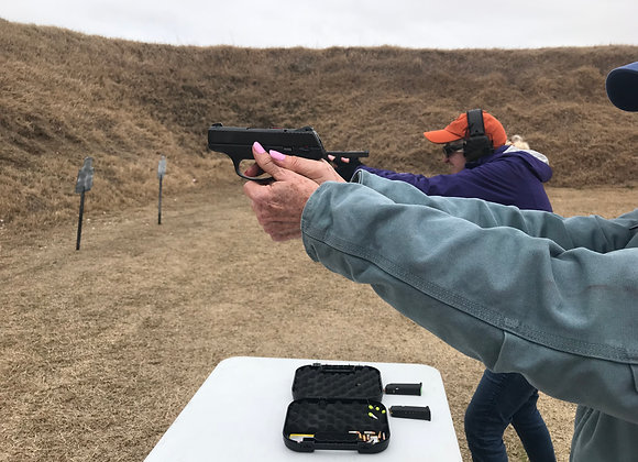 February 8 - Introduction to Firearms (Handgun)