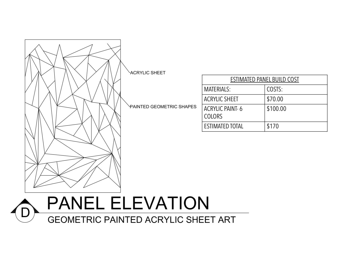 Panel Elevation D