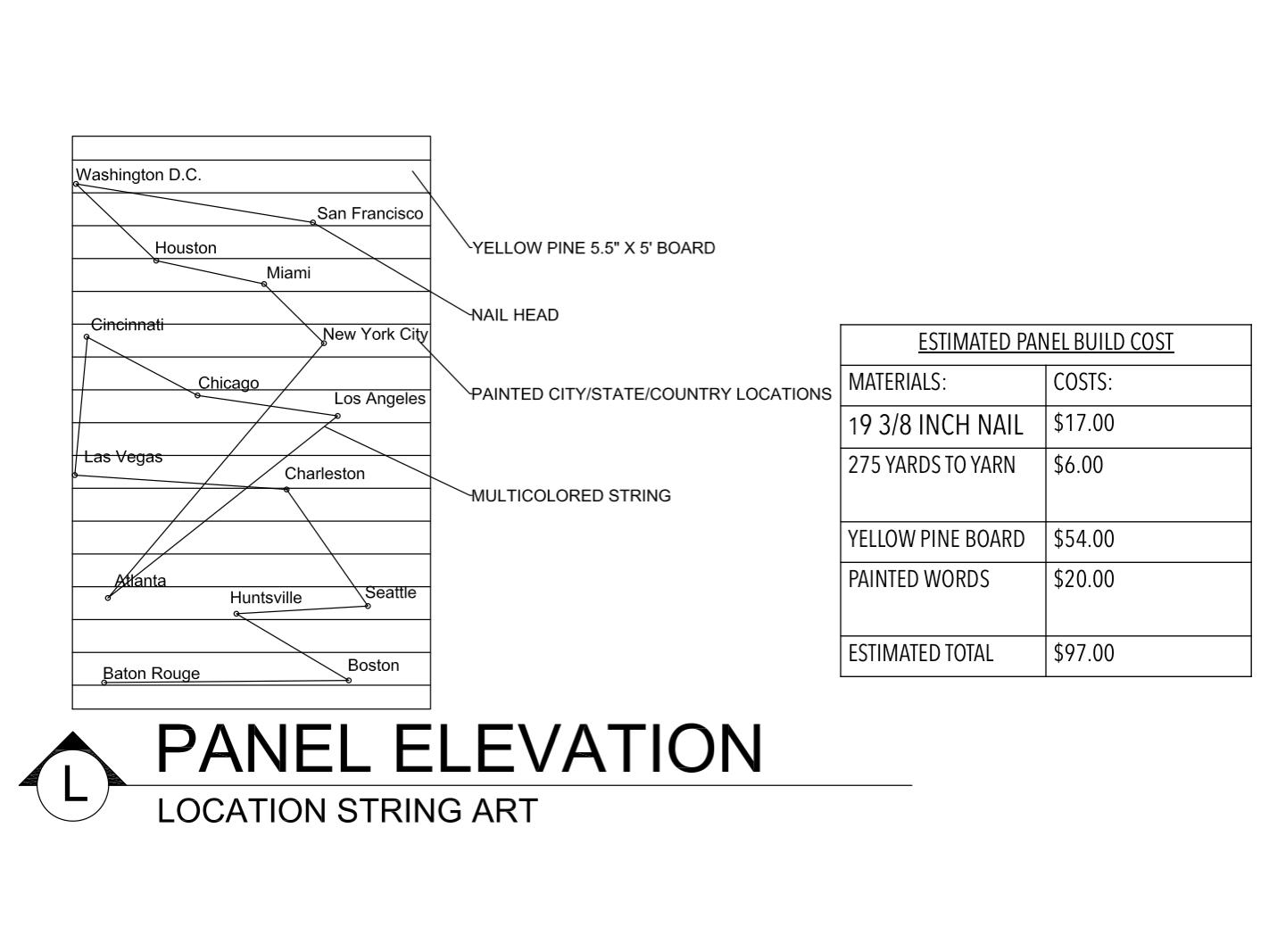 Panel Elevation L