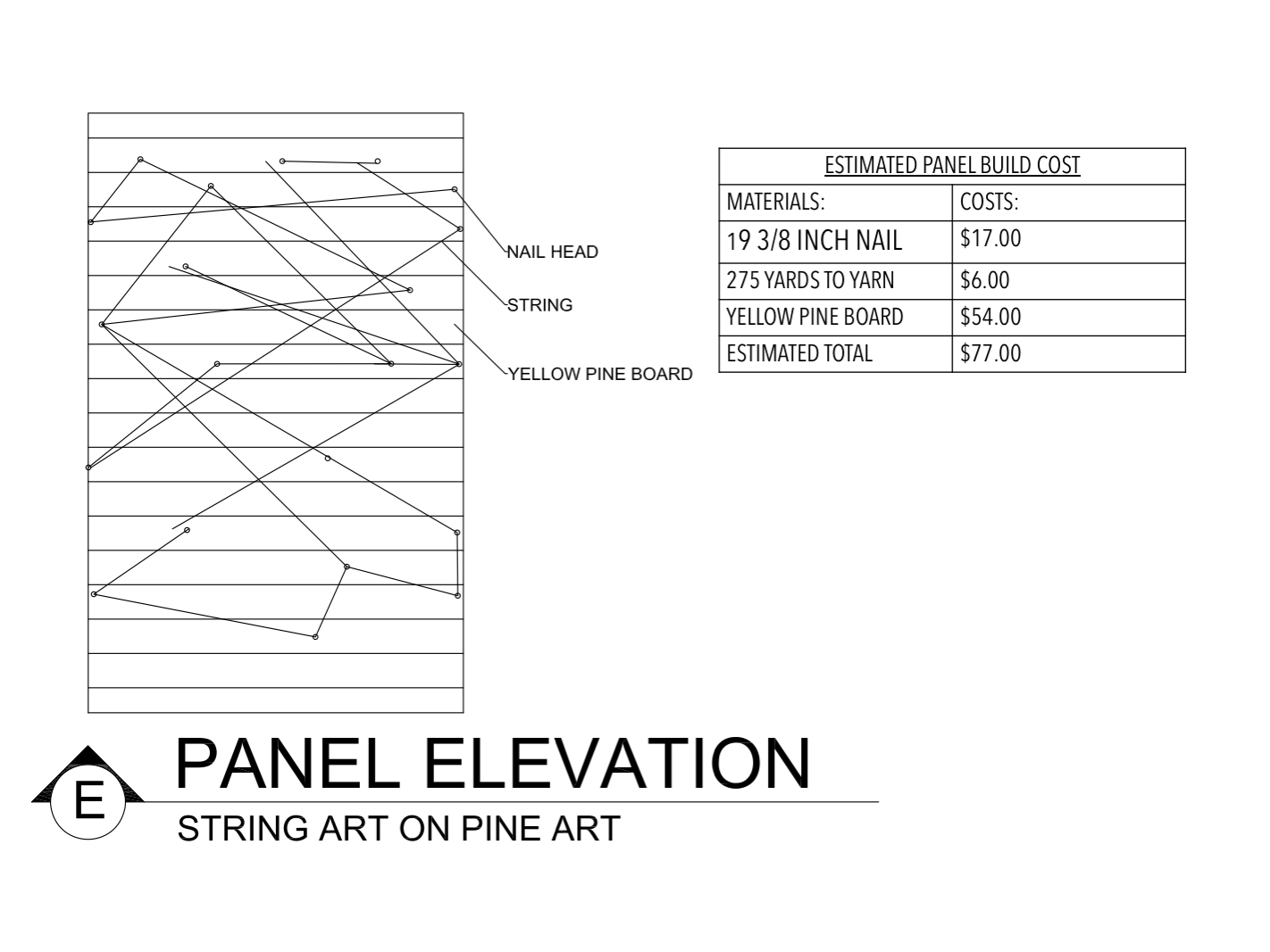 Panel Elevation E