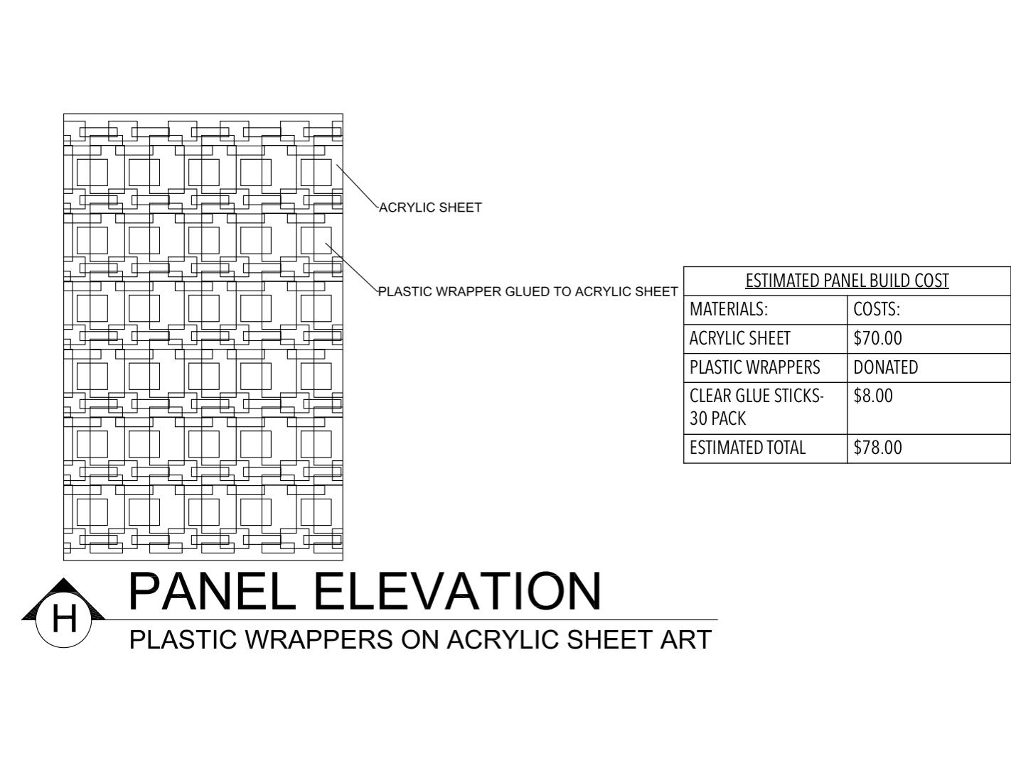 Panel Elevation H