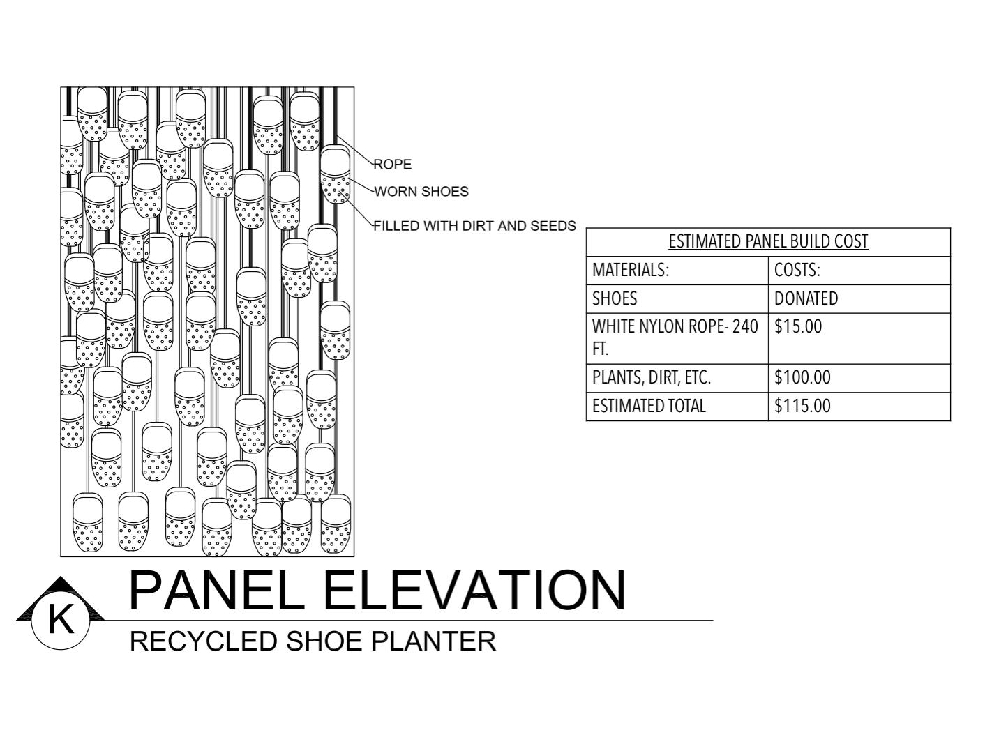 Panel Elevation K