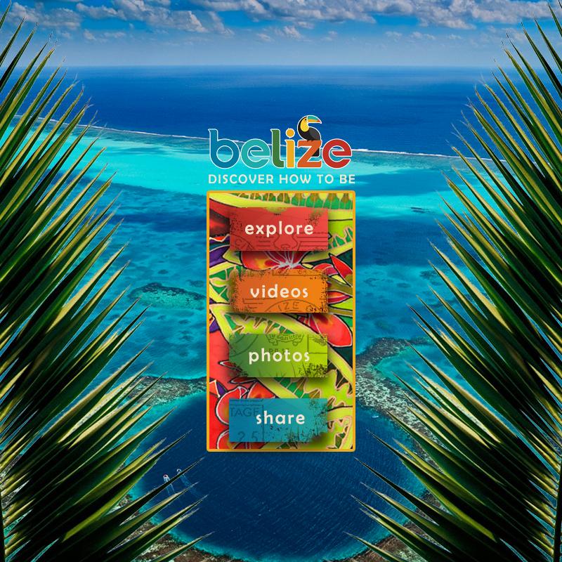 Belize Tourism Demo
