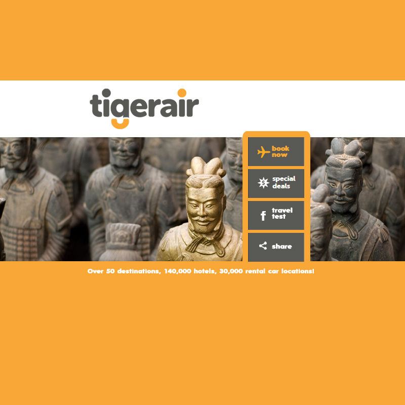 Tiger Air Demo