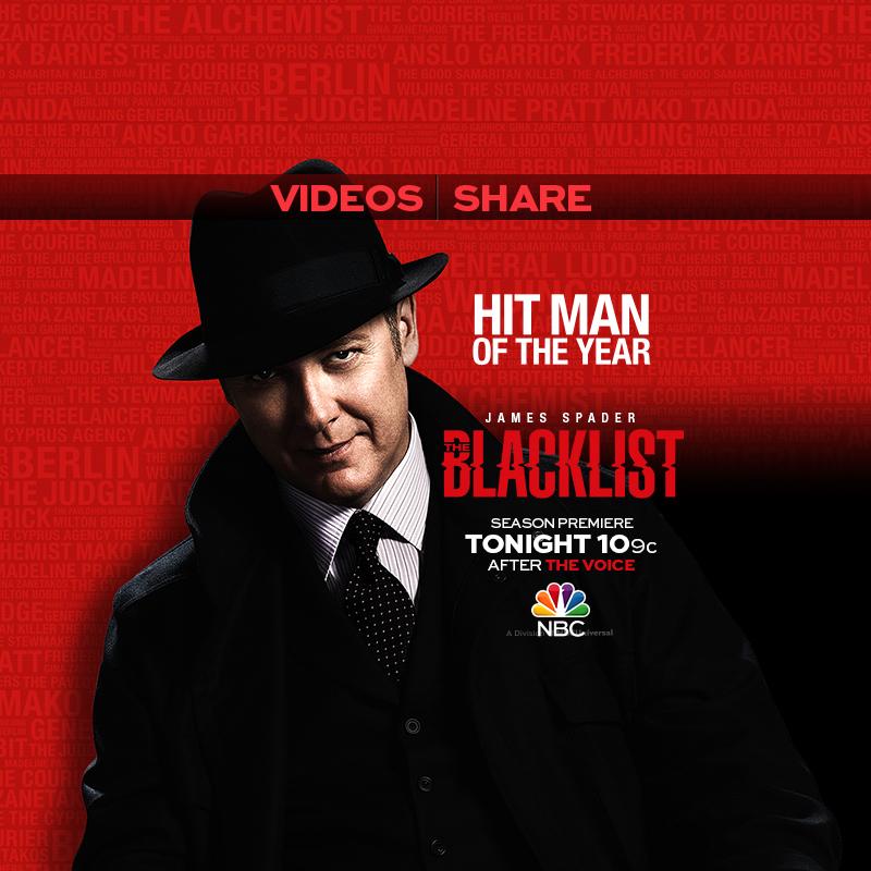 NBC BLACKLIST CAMPAIGN
