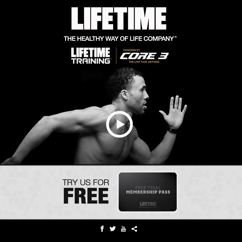 LIFETIME FITNESS DEMO