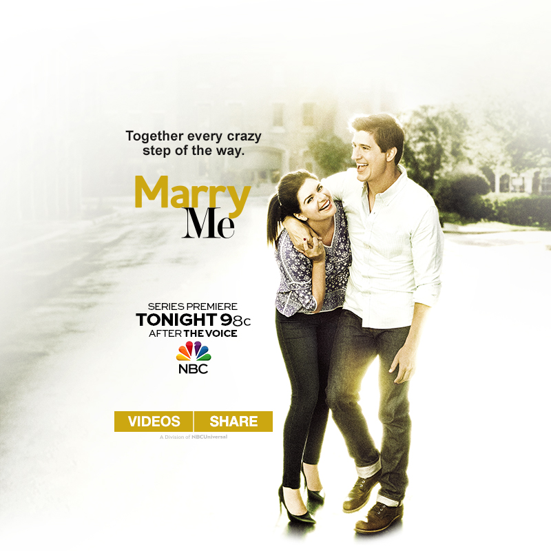 NBC Marry Me Campaign