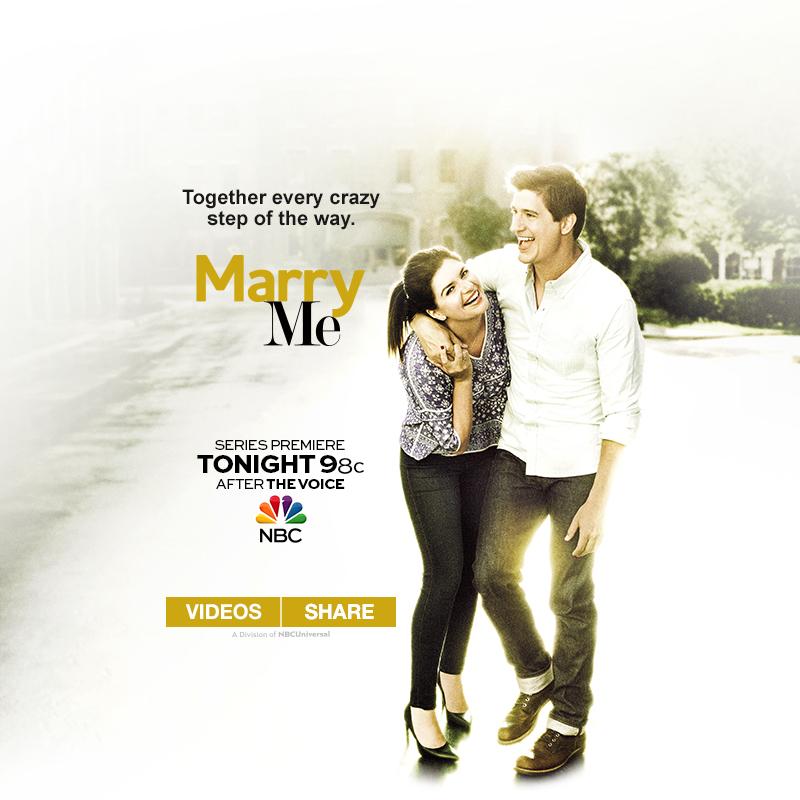 NBC Marry Me Campaign