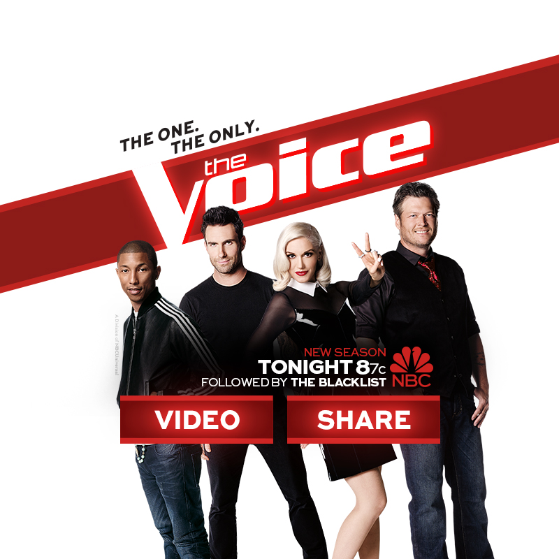 NBC THE VOICE CAMPAIGN