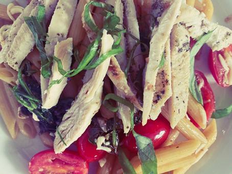A Yummy Pasta Dish