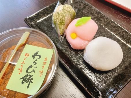 胡桃餅・きな粉餅…月に華☆ここの和菓子は別格!!田中清月堂☆