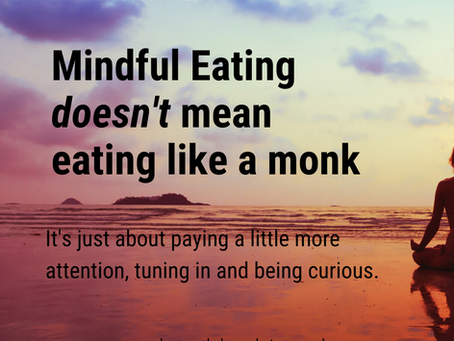 Top Tips for Mindful Eating