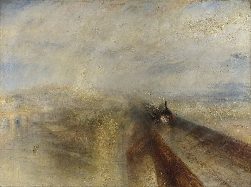J.M.W. Turner - Rain, Steam and Speed (1844)