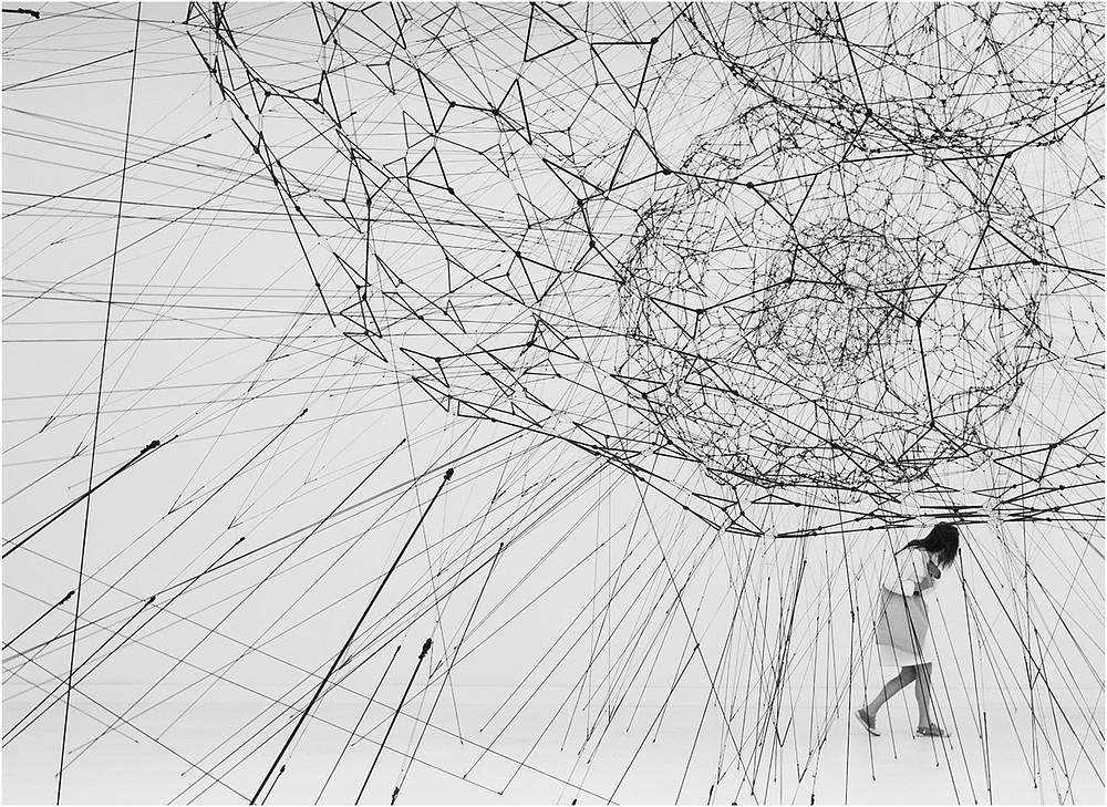 Networkism art installation.