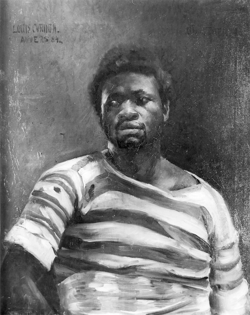 """Un Othello"" by Corinth, Lovis (1858--1925)"