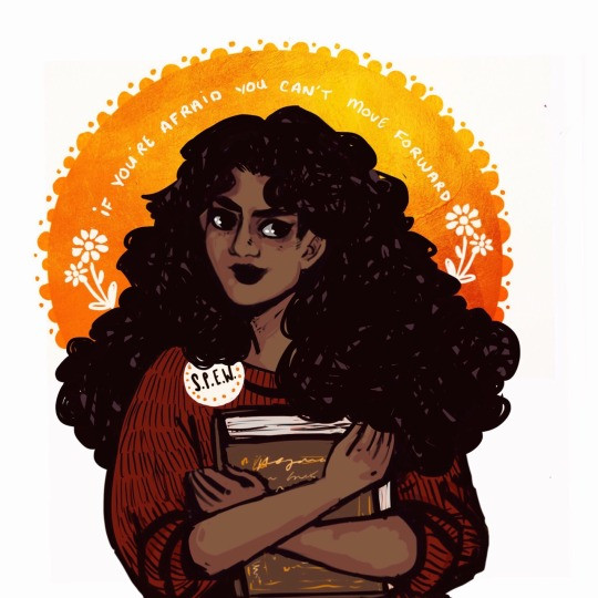Fan-fiction writers often re-create Hermione Granger as a woman of color.