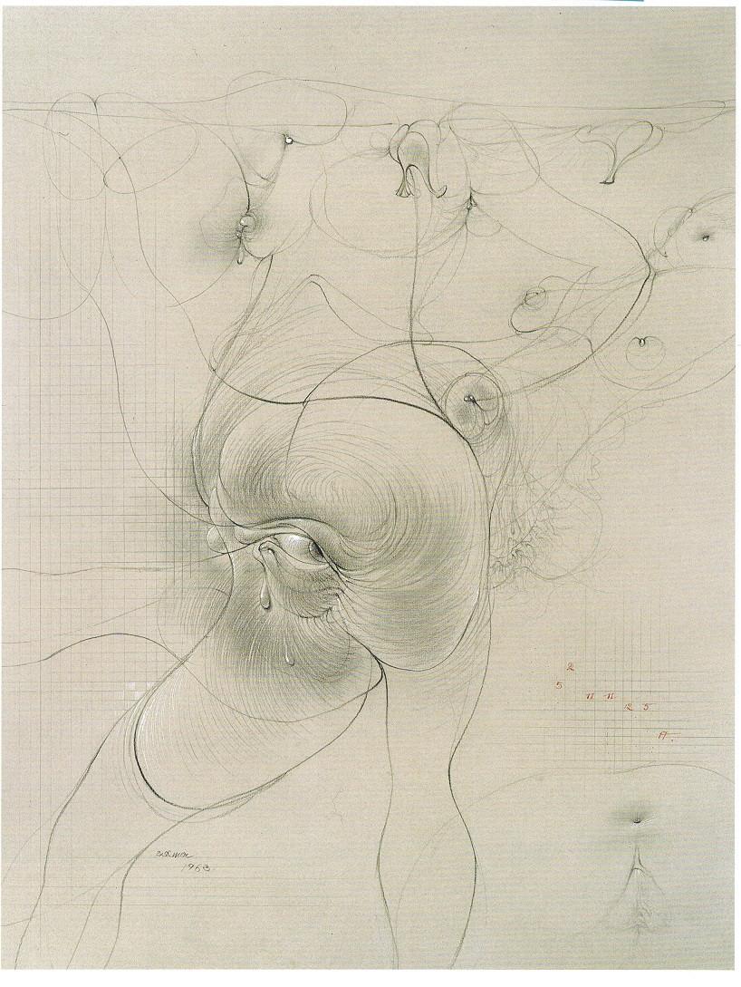 Bellmer - Auto-oeil, 1963