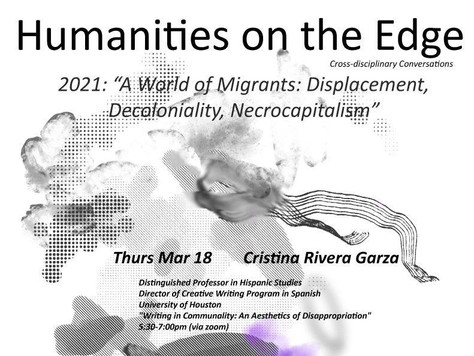 Cristina Rivera Garza: A Humanities Scholar on the Edge