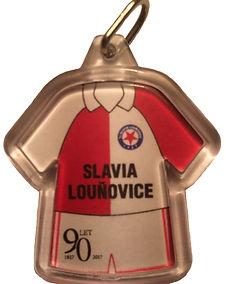 Slavia Louňovice přívěšek na klíče 90 let