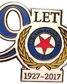 Slavia Louňovice odznak 90 let