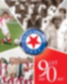 Kniha 90 let Slavia Louňovice
