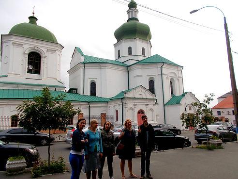 Kyiv walking city tour