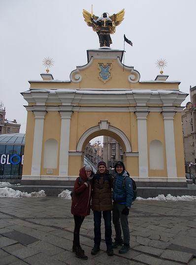 walking Kyiv tour with Taras