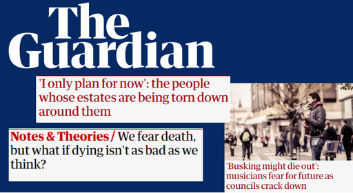 Guardian journalism