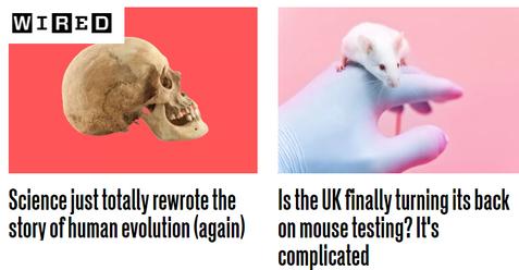 Wired journalism