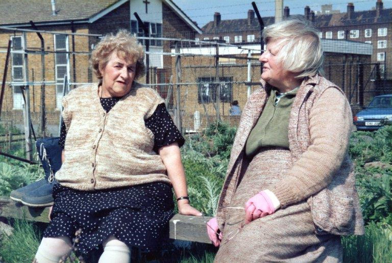 Vauxhall City Farm allotment holders