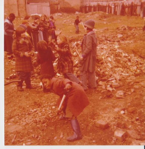 Jubilee City Farm in Vauxhall, Lomdon, in 1976