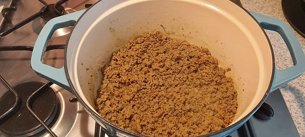 Dolmeh - minced lamb and spices