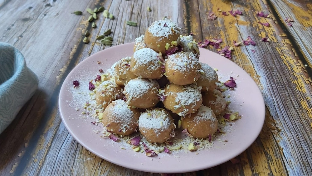 Qottab - Pastry Filled Persian Sweet