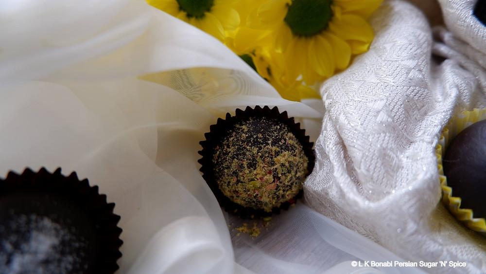 Chocolate, Chilli & Cardamom Truffles