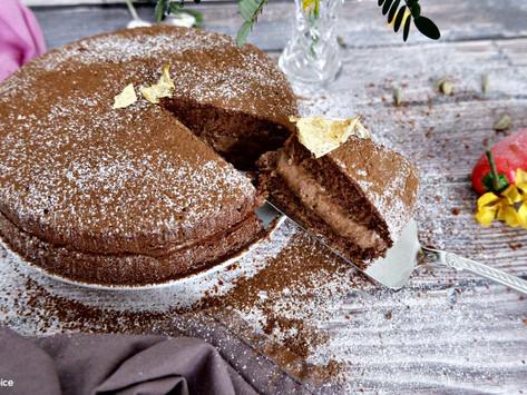 Chocolate, Chilli & Cardamom Cake