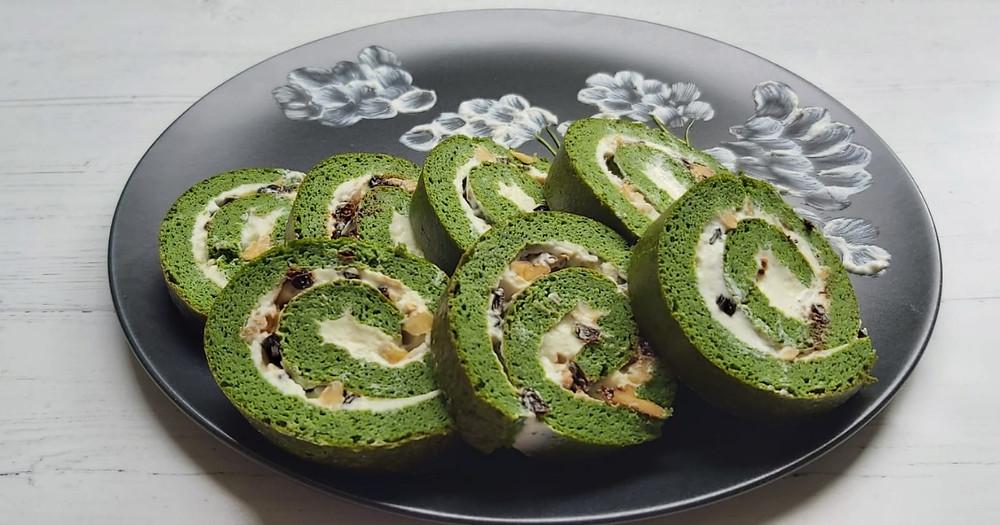 Persian Herb Roulette - Koo Koo Sabzi