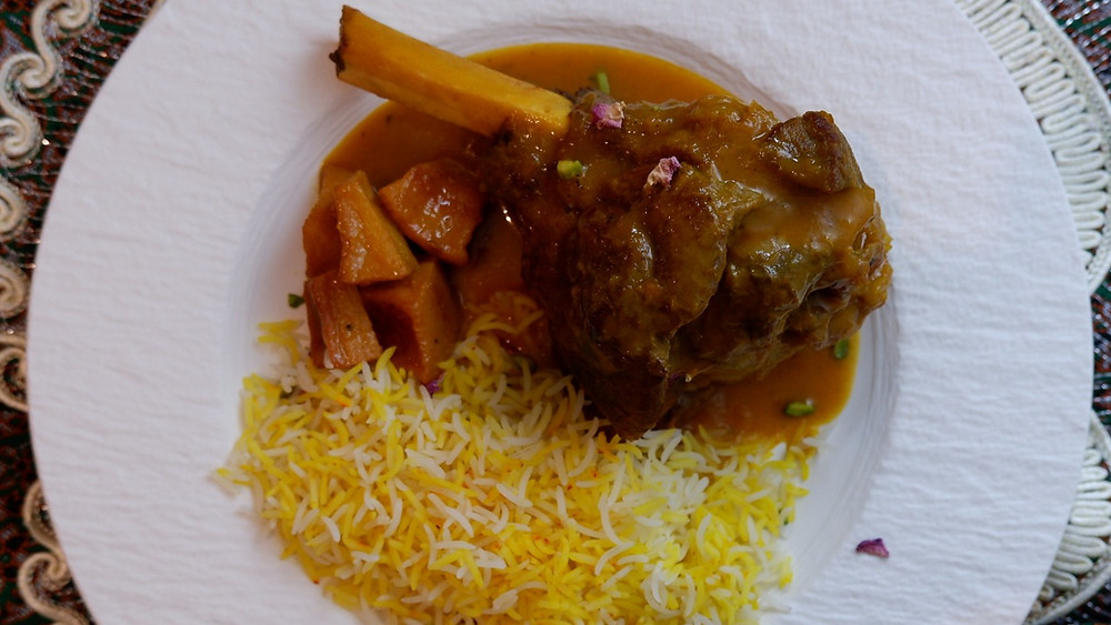 Pumpkin and Lamb Stew - Khoresht-e-Kadoo Tambal ba goosht