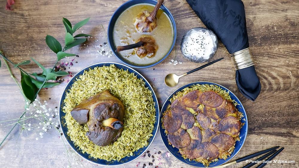 Christmas Persian Roast Lamb
