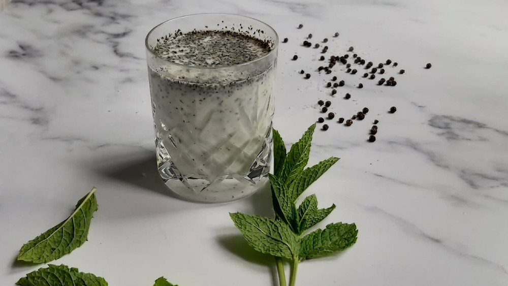 Yogurt and Mint Drink - Doogh